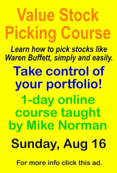 Value Stock Picking Course